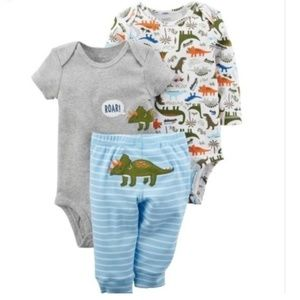 Carter's Dinosaur Body Suit & Pants Set